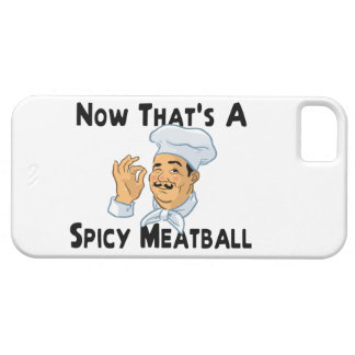 A Spicy Meatball iPhone 5 Cases