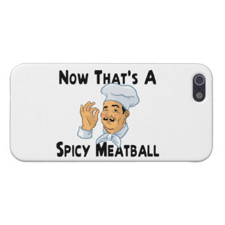 A Spicy Meatball iPhone 5 Cover