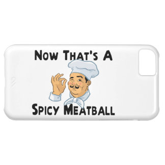 A Spicy Meatball iPhone 5C Case