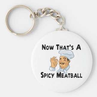 A Spicy Meatball Key Ring