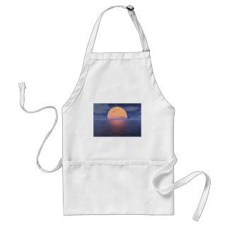 A Spiritual Place -Blue Sunset Standard Apron