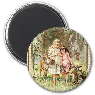 A Spiritual Place -Fairytales -Snow White 6 Cm Round Magnet