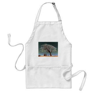 A Spiritual Place -Spiritual Tree Apron