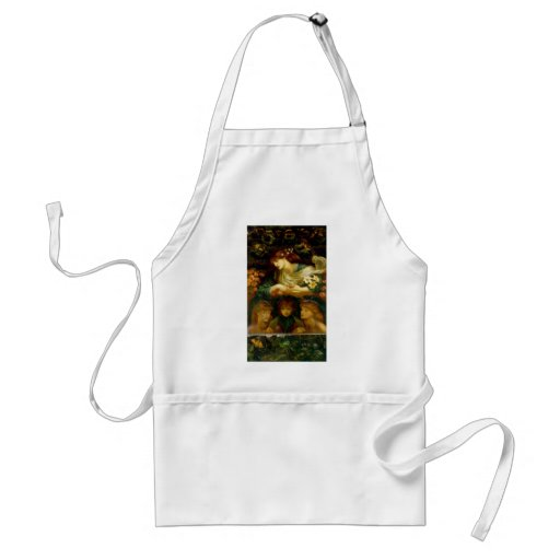 A Spiritual Place -The_Blessed_Damozel Aprons