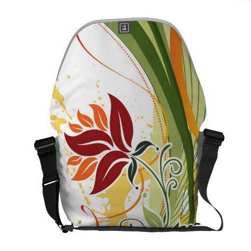 A-Splash-of Colors Rickshaw Messenger Bag