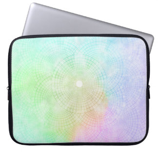A Splash of Pastel Computer Sleeve