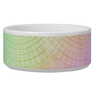 A Splash of Pastel Pet Bowls
