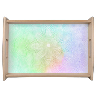 A Splash of Pastel Serving Tray