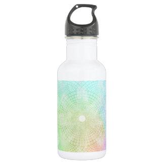 A Splash of Pastel Water Bottle