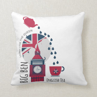 A Spot of English Tea Cushion