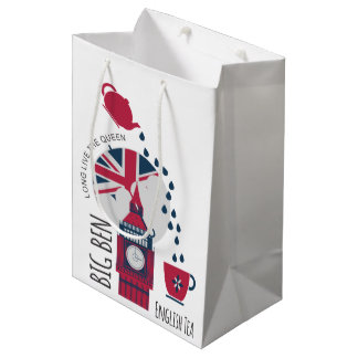 A Spot of English Tea Medium Gift Bag