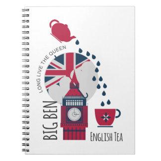 A Spot of English Tea Notebook