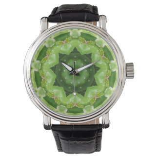 A Starry Cactus Fractal Watch