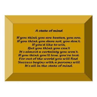 A State of Mind Postcard