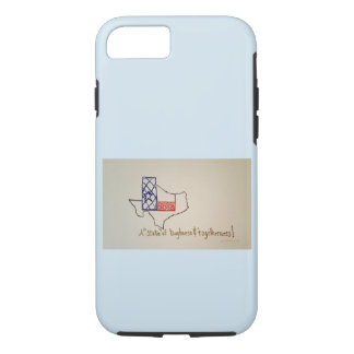 A State of Texas image on a iphone case. iPhone 8/7 Case