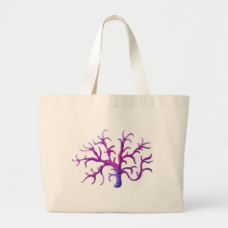 A stemy coral reef jumbo tote bag