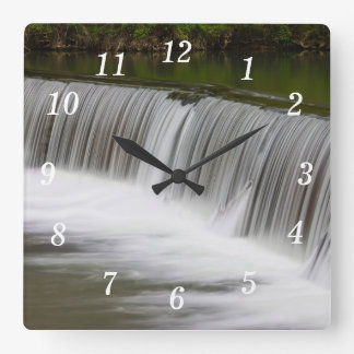 A Step Down Square Wall Clock