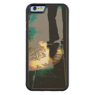 A step towards... Fame ? -  Wood Case Maple iPhone 6 Bumper Case