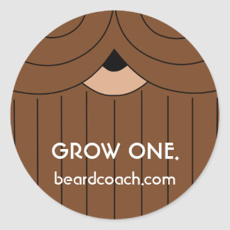 A Sticker Regarding Beard Growth