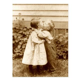 A Stolen Kiss Postcard