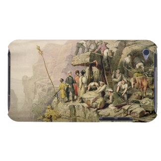 A Stone Quarry, 1833 (colour litho) iPod Touch Cover