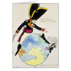 A Stoppage to a Stride over the Globe, 1803 Card