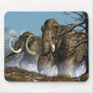 A Storm Of Mammoths Mouse Pad