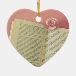 A Story Ceramic Heart Decoration