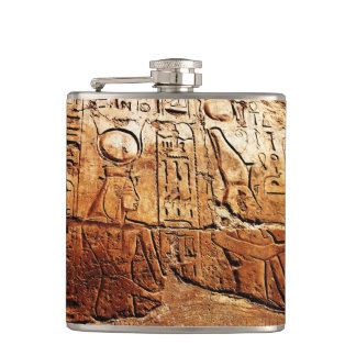 """A Story in Egypt"" JTG Art Flask"