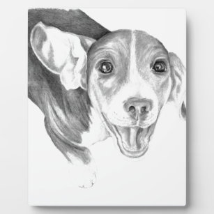 A Story To Tell, A Beagle Puppy Plaque