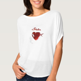 A Stout Valentine Heart-Sister T-shirt