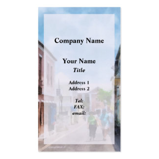 A Street in St. George's Bermuda Pack Of Standard Business Cards