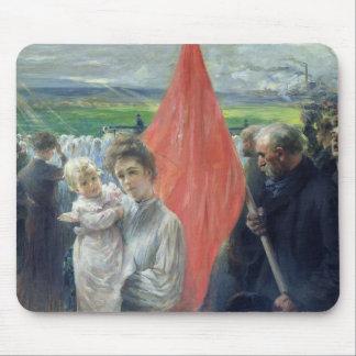 A Strike at Saint-Ouen, 1908 Mouse Pad