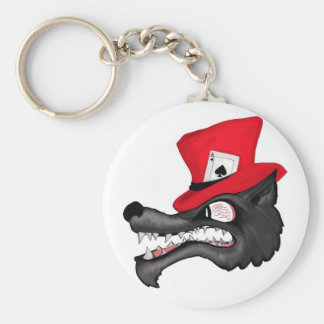 A Stroke of Luck  Lone Wolf Keychain
