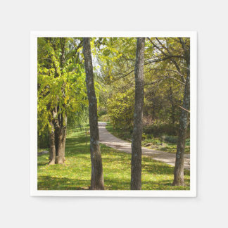 A Stroll in the Park Paper Napkins