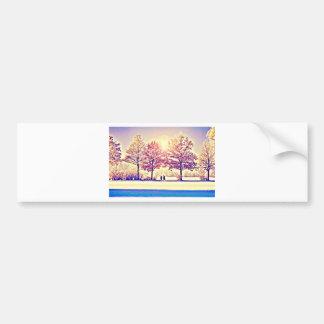 A stroll in the woods bumper sticker