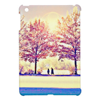 A stroll in the woods iPad mini cover