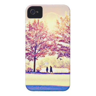 A stroll in the woods iPhone 4 case