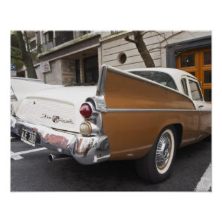 A Studebaker Silver Hawk Classic Car parked on a Poster