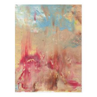 A Study in colour Postcard