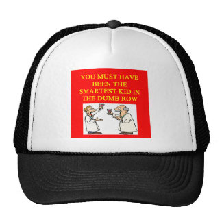 a stupid  insult trucker hats