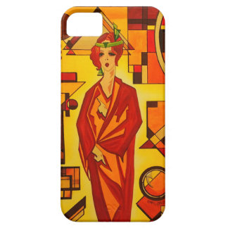 A stylish art deco vogue iphone case iPhone 5 cover