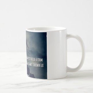 A successful woman build a strong foundation... coffee mug
