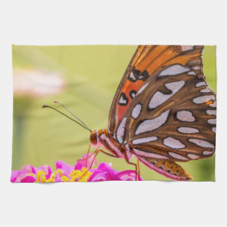 A Summer Butterfly Towel