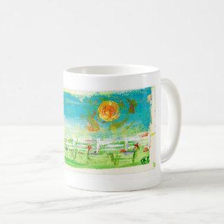 A Summer Fence Coffee Mug