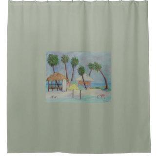 A SUMMER PLACE Shower Curtain