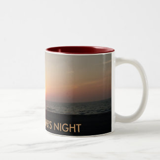 A SUMMER'S NIGHT Two-Tone COFFEE MUG