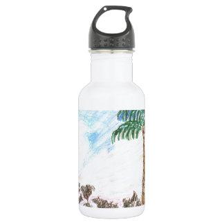 A Sun Set in Paridise 532 Ml Water Bottle