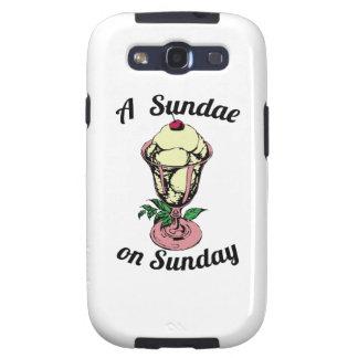 A Sundae on Sunday Galaxy S3 Case