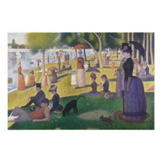 A Sunday Afternoon on La Grande Jatte Poster